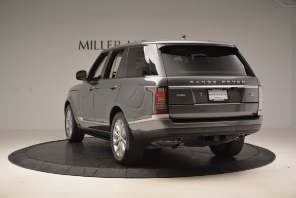 Used 2016 Land Rover Range Rover HSE TD6 for sale Sold at Aston Martin of Greenwich in Greenwich CT 06830 5
