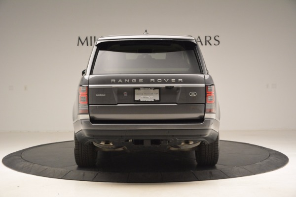 Used 2016 Land Rover Range Rover HSE TD6 for sale Sold at Aston Martin of Greenwich in Greenwich CT 06830 6