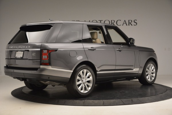 Used 2016 Land Rover Range Rover HSE TD6 for sale Sold at Aston Martin of Greenwich in Greenwich CT 06830 8