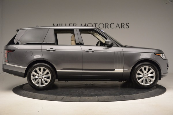 Used 2016 Land Rover Range Rover HSE TD6 for sale Sold at Aston Martin of Greenwich in Greenwich CT 06830 9