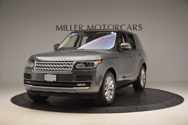 Used 2016 Land Rover Range Rover HSE TD6 for sale Sold at Aston Martin of Greenwich in Greenwich CT 06830 1