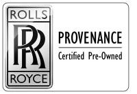 Certified Rolls Royce