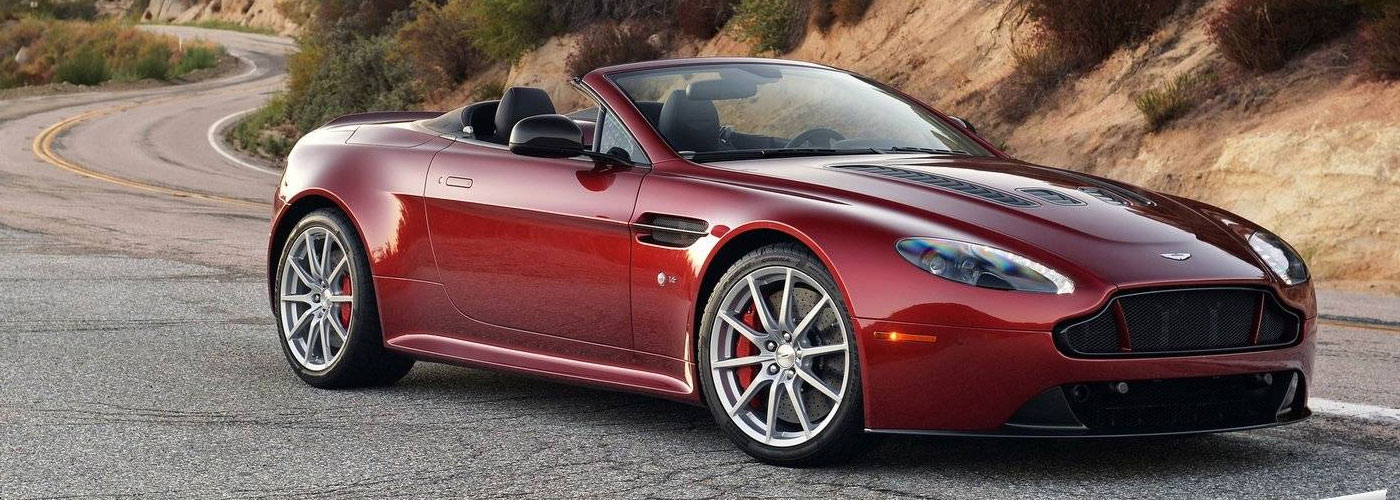 aston martin v12 vantage s roadster video