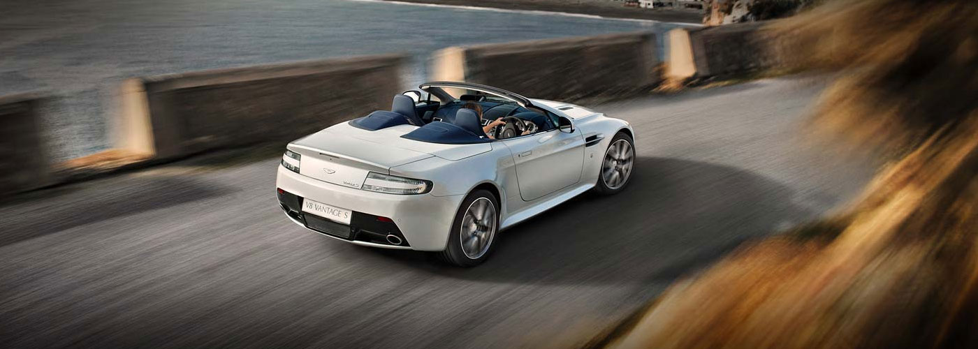 aston martin v8 vantage s roadster video