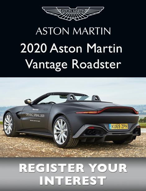 Aston Martin 2020 Aston Martin Vantage Roadster Register your interest